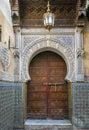 Ancient doors, Morocco Royalty Free Stock Photo