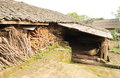 Ancient dwelling Royalty Free Stock Photo