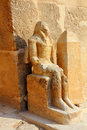 Ancient egypt statue in Giza Royalty Free Stock Images
