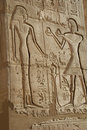 Ancient egyptian bas-relief Stock Photos
