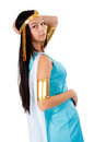 Ancient Egyptian woman - Cleopatra Stock Images