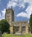 Ancient English country side church Royalty Free Stock Photography