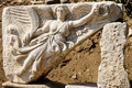Ancient ephesus the city of in turkey Stock Images