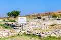 Ancient fortress on Cape Kaliakra, Bulgaria Royalty Free Stock Photo