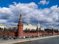 Ancient fortress Kremlin, Moscow Royalty Free Stock Photos