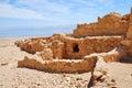 Ancient fortress Massada Stock Photos