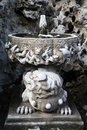 Ancient fountain in Beijing Stock Photo