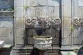 Ancient fountain in Porto
