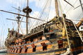Ancient galleon Royalty Free Stock Photo