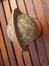 Ancient globe Royalty Free Stock Photo