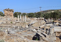Ancient Gortyna at Crete island, Greece Royalty Free Stock Images