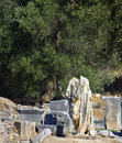 Ancient Gortyna at Crete island, Greece Stock Photography