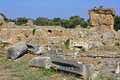Ancient Gortyna, Crete island, Greece Royalty Free Stock Photos