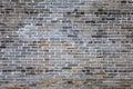Ancient gray brick wall Royalty Free Stock Photo