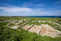 Ancient greek city Chersonese. Sevastopol. Crimea. Ukraine. Royalty Free Stock Photo