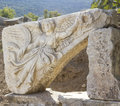 Ancient greek city ephesus ruins of the Stock Photo