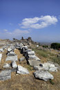 Ancient Greek City of Pergamon in Bergama, Turkey Stock Photos