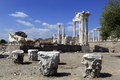 Ancient Greek City of Pergamon in Bergama, Turkey Stock Image