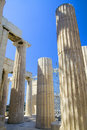 Ancient Greek Columns Royalty Free Stock Photo