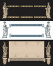 Ancient Greek design vector