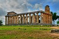 Ancient greek temples and ruins in southern italy Stock Photography
