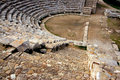 Ancient greek theater ruins, Sicily Royalty Free Stock Photo