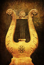 Ancient harp Royalty Free Stock Photography