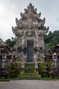 Ancient hindu temple bali photograph of a beautiful and historic of indonesia Stock Photography
