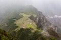 Ancient Inca city of Machu Picchu
