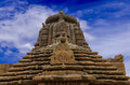 Ancient indian temple stone named raja rani in bhubaneswar india built centuries ago Royalty Free Stock Photo