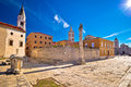 Ancient landmarks of Zadar view Royalty Free Stock Photo