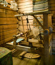 Ancient loom. Royalty Free Stock Photography