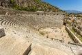 Ancient lycian Myra ruins at Turkey Demre Royalty Free Stock Photo