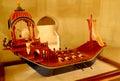 Ancient manual ship model