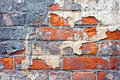 Ancient masonry fragment of walls Royalty Free Stock Image