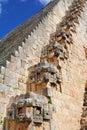Ancient Maya city of Uxmal XIX Royalty Free Stock Photo