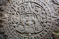 Ancient Mayan Calendar Royalty Free Stock Photo