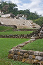 Ancient Mayan ruins in Palenke Royalty Free Stock Images