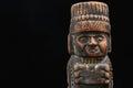 Ancient Mayan Statue Royalty Free Stock Photo