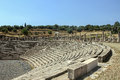 Ancient messene greece stadium in in peloponnese Stock Photos