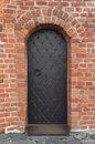 Ancient metal door bar Royalty Free Stock Photo