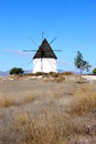 Ancient mill near Fernan Perez in Andalusia, Spain Stock Photography