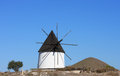 Ancient mill near Las Negras, Andalusia, Spain Royalty Free Stock Image