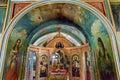 Ancient mosaics icons rectory saint michael vydubytsky monastery kiev ukraine screen s is the oldest functioning Stock Photo