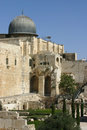 A ancient mosque in Jerusale, Israel Royalty Free Stock Images