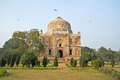 Ancient mosque in lodi garden delhi Stock Photos