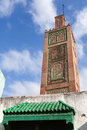Ancient mosque in medina tangier town morocco old part of Stock Images