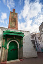 Ancient mosque old part of tangier morocco town Stock Image