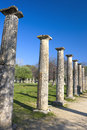 Ancient Olympic Site, Greece Stock Images
