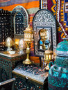 Ancient oriental lamps Stock Photo
